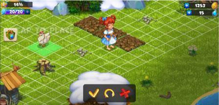 Farmdale Mod Apk Latest (Unlimited Crystals, Money, Everything, Infinite, Free Shopping) Home Hack Offline Farm Village Game Free Download